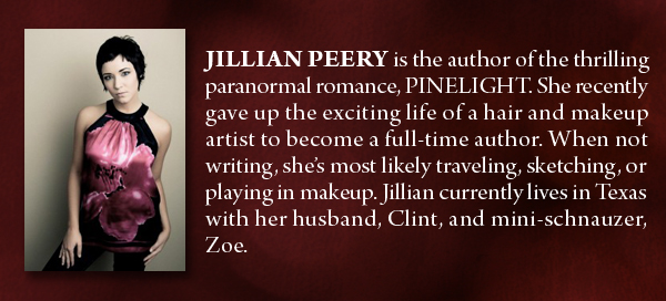 Interview |  Meet Jillian Peery and a giveaway!
