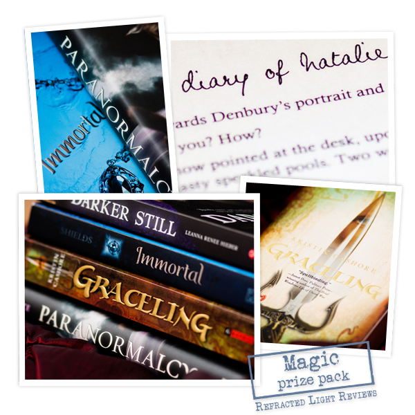 A Bookish Little Christmas Giveaway |  'Lil Bit of Magic Prize Pack