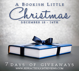 A Bookish Little Christmas Giveaway    Wander Dust Prize Pack!!!