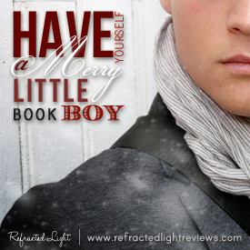 Have Yourself A Merry Little Book Boy | Puck from The Iron Fey & a giveaway!
