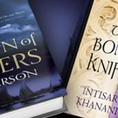 Saturday Snippet Reviews | The Bone Knife and The Crown of Embers