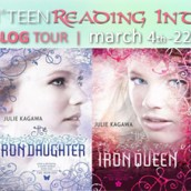 Harlequin Teen's Reading into Romance Blog Tour & Giveaway |  Julie Kagawa & The Iron Fey