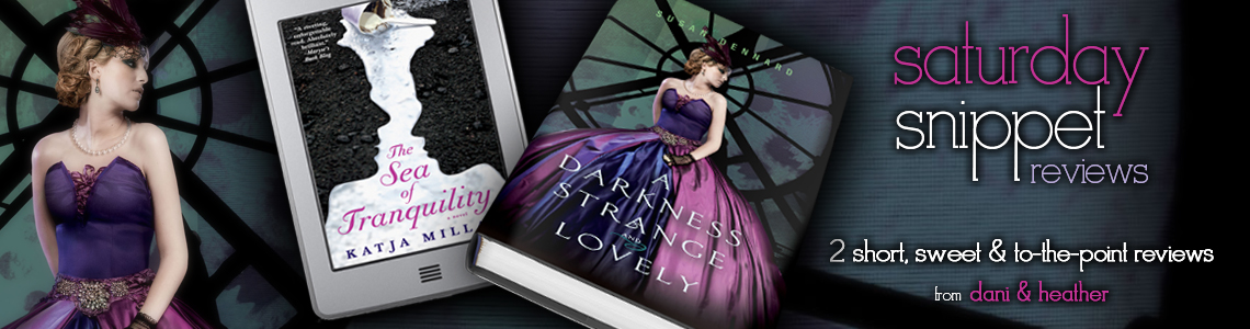 Saturday Snippet Reviews A Darkness Strange And Lovely The Sea