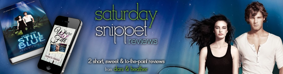 Saturday Snippet Reviews | Where We Fell & Into the Still Blue