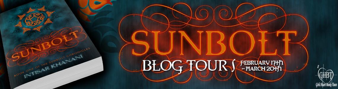 Blog Tour & Giveaway | Sunbolt by Intisar Khanani