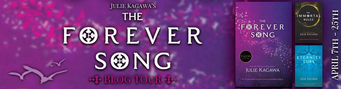 Blog Tour, Interview & Giveaway | The Forever Song by Julie Kagawa