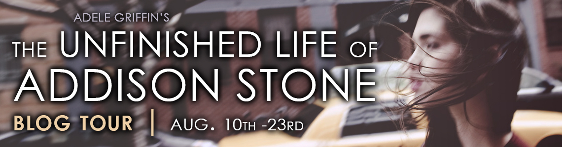 Blog Tour & Giveaway | The Unfinished Life of Addison Stone by Adele Griffin