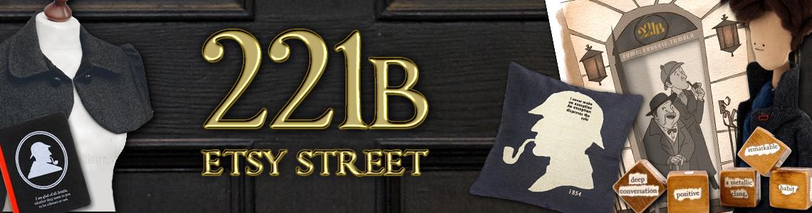 Etsy Fangirl | 221B Etsy Street