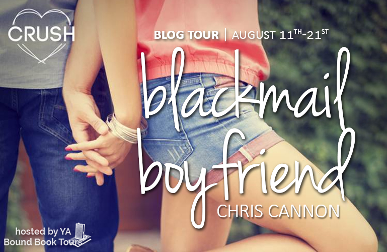 Blog Tour, Review & Giveaway | Blackmail Boyfriend by Chris Cannon