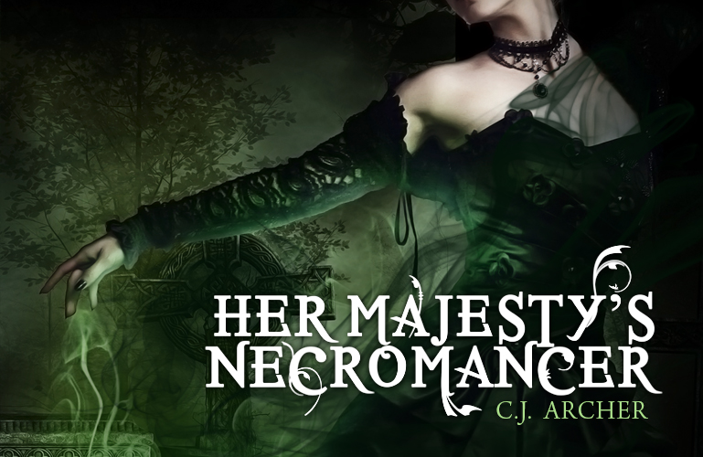 Flashbulb Review | Her Majesty's Necromancer by C.J. Archer