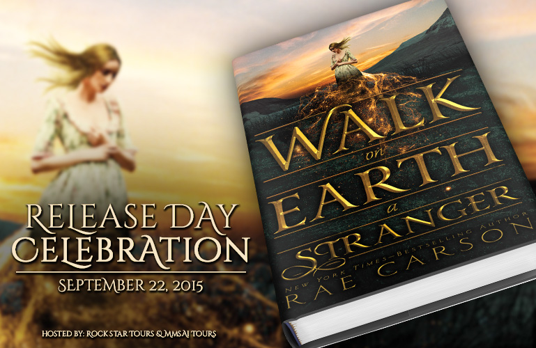 <b> Release Day Celebration | </b>Walk on Earth a Stranger by Rae Carson